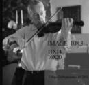Bill Bowing his Violin
