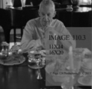 Bill at the Dining Table