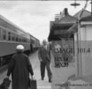 Bill at the Bedford Hills Train